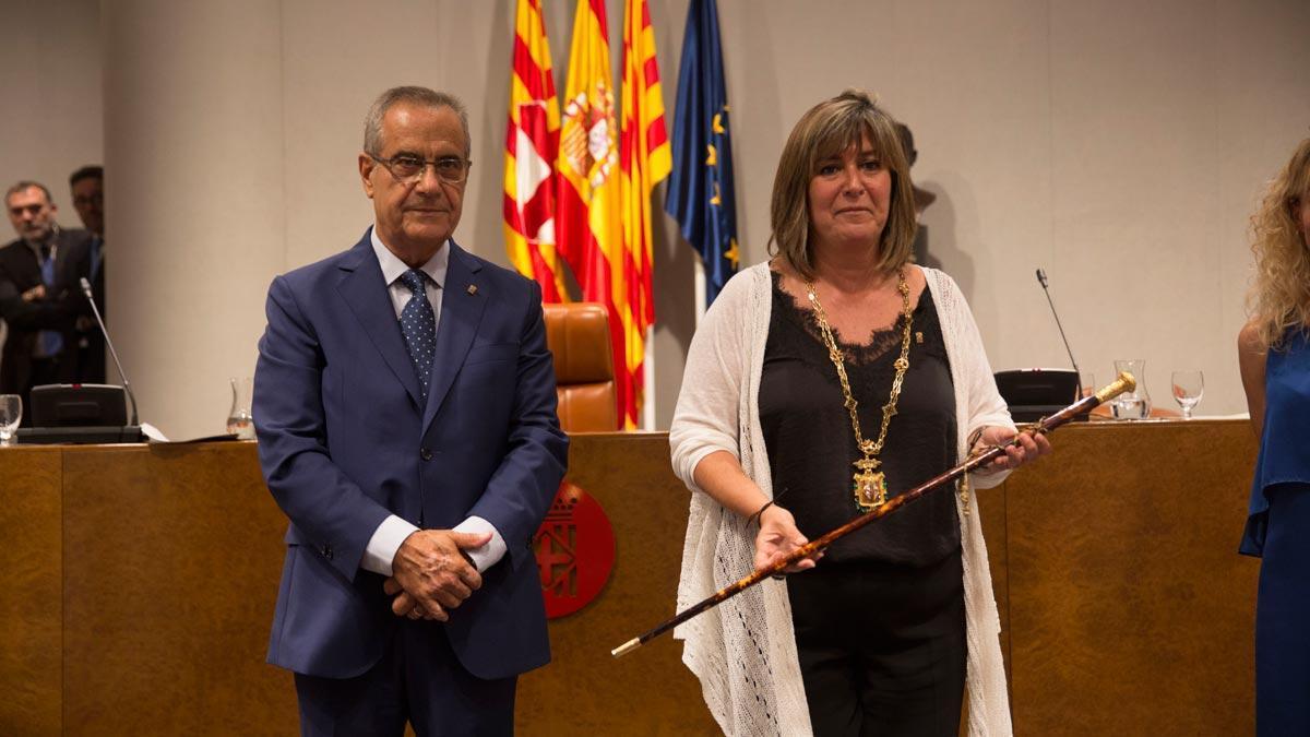 Núria Marín, presidenta de la Diputación de Barcelona con apoyo de JxCat.
