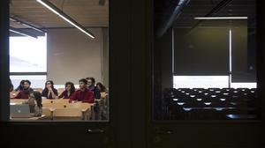 Un de cada tres professors de l'escola pública catalana és interí