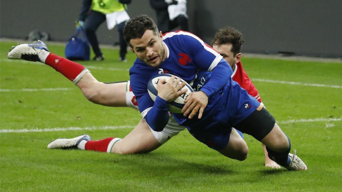 Francia derrota a Gales en el último segundo y ganará el torneo si vence a Escocia en el partido aplazado