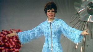 Salomé, en el festival de Eurovisión, en 1969.