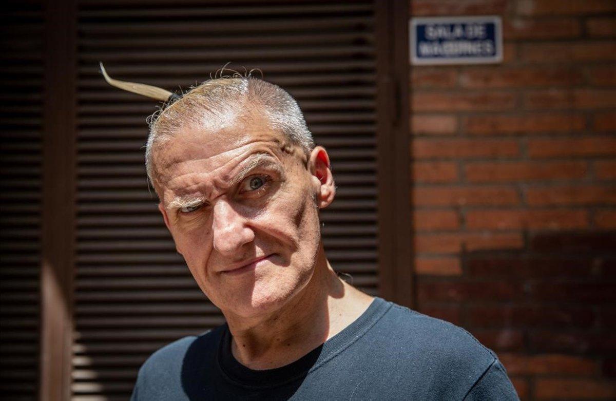 Nando Dixkontrol, el pasado mes de junio, en Barcelona.
