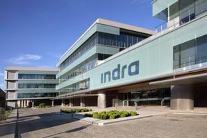 Sede central de Indra en Alcobendas (Madrid).