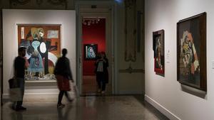 Una de las salas de 'Picasso-Picabia', la exposición que indaga enla relación que mantuvieron ambos artistas.