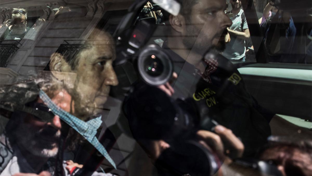 Zaplana, detingut per la Guàrdia Civil