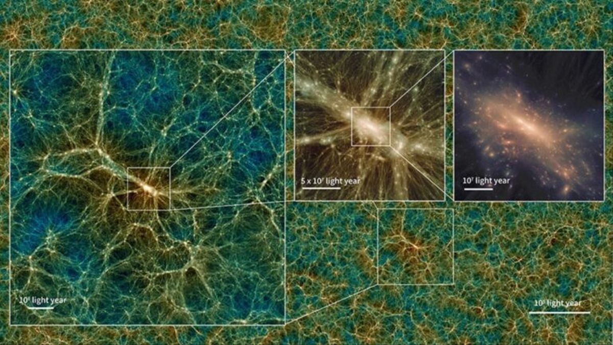 Crean un enorme universo virtual: todos podemos ser astrónomos