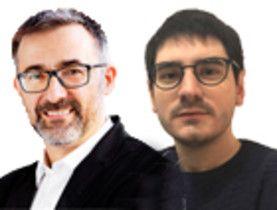 Antoni Gutiérrez-Rubí y Santiago Castelo