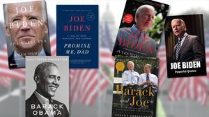 Libros sobre la figura de Joe Biden.