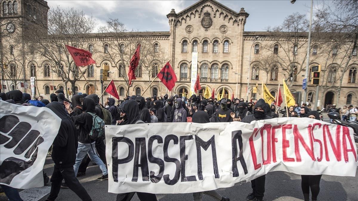 Convocada vaga indefinida a les universitats catalanes des del 29-O