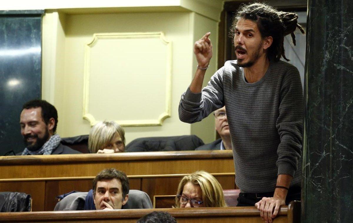 El Congrés aprova retirar la immunitat a Alberto Rodríguez