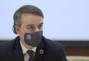 Iván Redondo, ya exdirector de Gabinete de Pedro Sánchez, durante su última comparecencia ante la Comisión Mixta de Seguridad Nacional, en el Congreso, el pasado 27 de mayo de 2021.