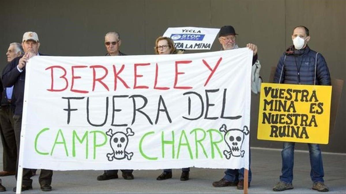 Berkeley obté llicència per a la seva mina d'urani a Salamanca
