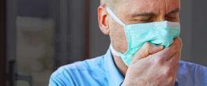 Con y sin mascarilla, ¿dónde alcanza tu saliva?