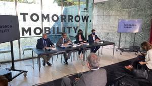 Acto de presentación de la feria Tomorrow Mobility.