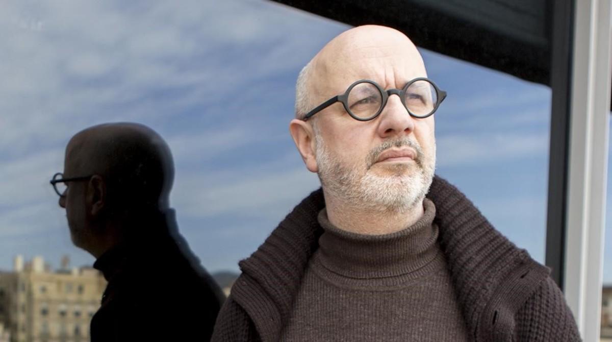 El escritor argentino Rodrigo Fresán, en la sede de Random House.