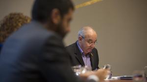 El conseller de Educació de la Generalitat de Catalunya, Josep Bargalló