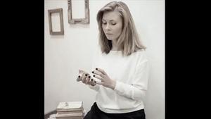 La escritora rumana Tatiana Tîbuleac.