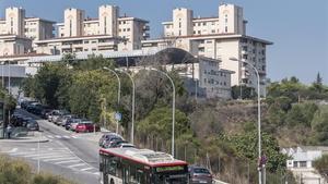 Vista general de Ciutat Meridiana.