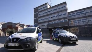 Vehículos de la policía local de Santa Perpètua de la Mogoda.