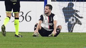 El bosnio Pjanic, de 30 años, durante un partido con la Juventus de la liga italiano.