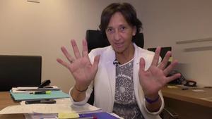 Imma Colom, alcaldesa de Tossa de Mar