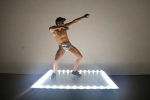 'Untitled' (Go-Go Dancing Platform), de Gonzalez-Torres, en el Macba.