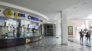Las salas de cine del centro comercial Diagonal Mar.