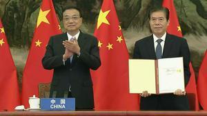 15 països d'Àsia Pacífic liderats per la Xina firmen el tractat comercial més gran del món
