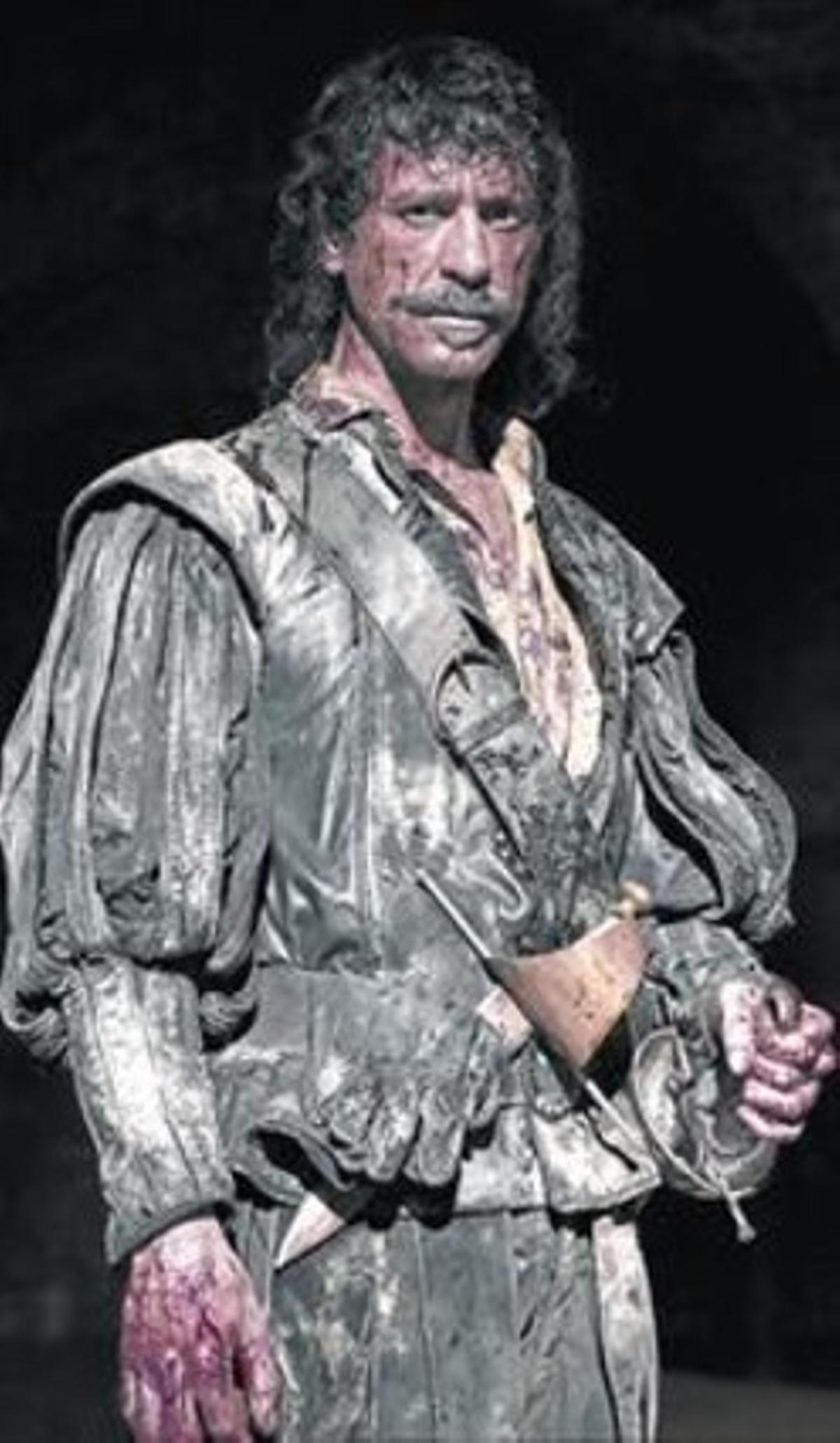 Nacho Fresneda, caracterizado como Alonso de Entrerríos.