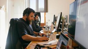 Oficinas de la start-up Carto.