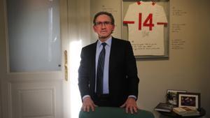 Jaume Giró, en su despacho profesional en Barcelona.