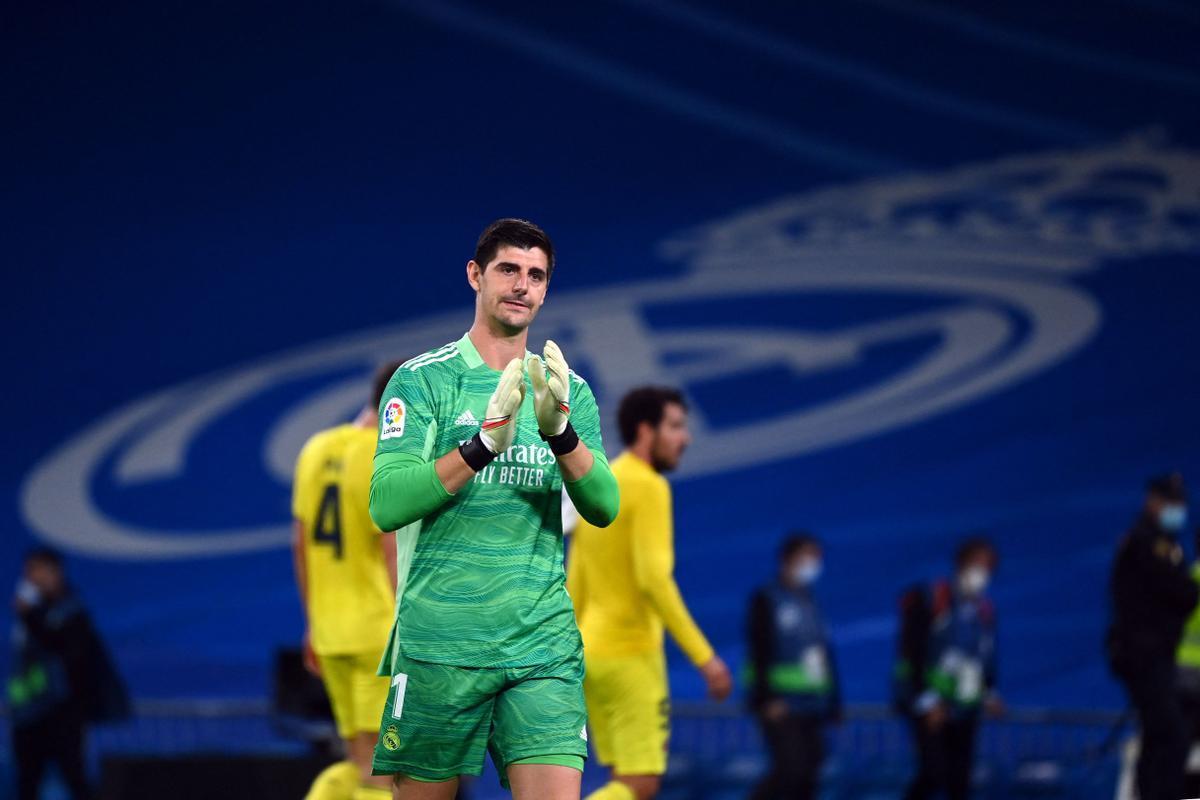 Courtois, tras el empate con el Villarreal.