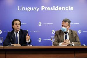 El presidente de Uruguay, Luis Lacalle Pou.