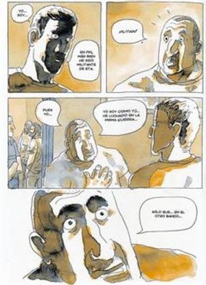 El encuentro entre los personajes del exmilitante de ETA y el exmiembro del GAL, en 'He visto ballenas'.