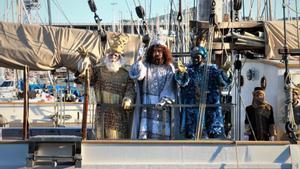 Llegada de los Reyes de Oriente en 2020 a Barcelona.