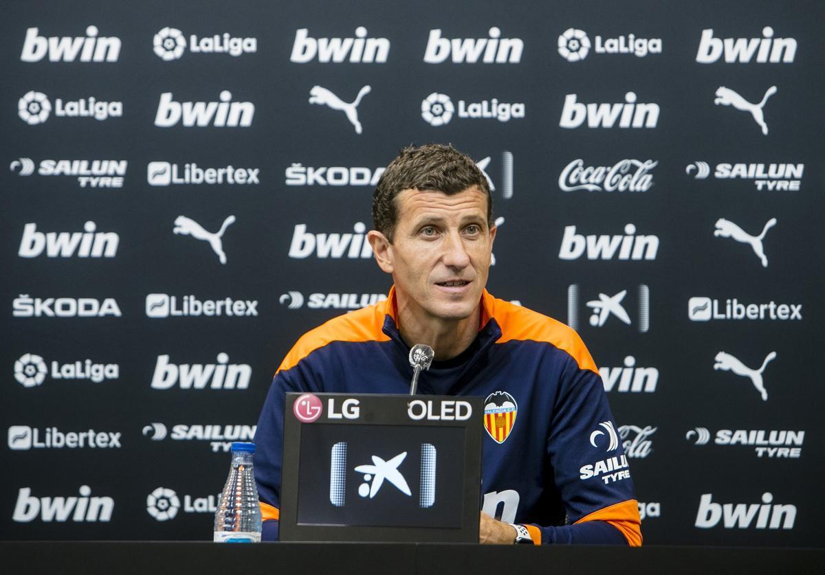 Javi Gracia, destituido del Valencia.