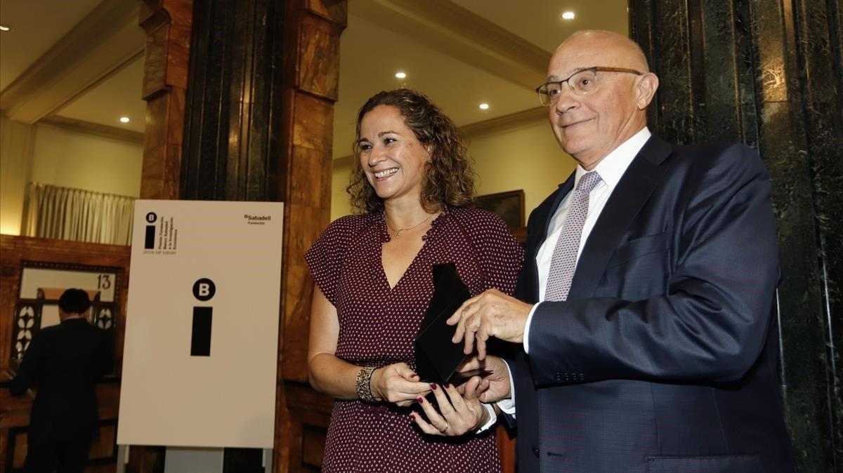 La Fundación Banc Sabadell premia a la economista Irma Clots Figueras