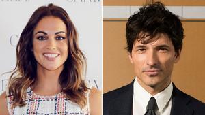 La presentadora Lara Álvarez y el modelo y actor Andrés Velencoso.