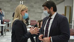 López Miras, davant la moció de censura: «Assistim a un acte de traïció»