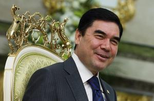 El presidente de Turkmenistán, Gurganbulí Berdimujammédov, el pasado 17 de noviembre.