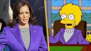 Una altra predicció de 'Els Simpson': Kamala Harris i la presidenta Lisa