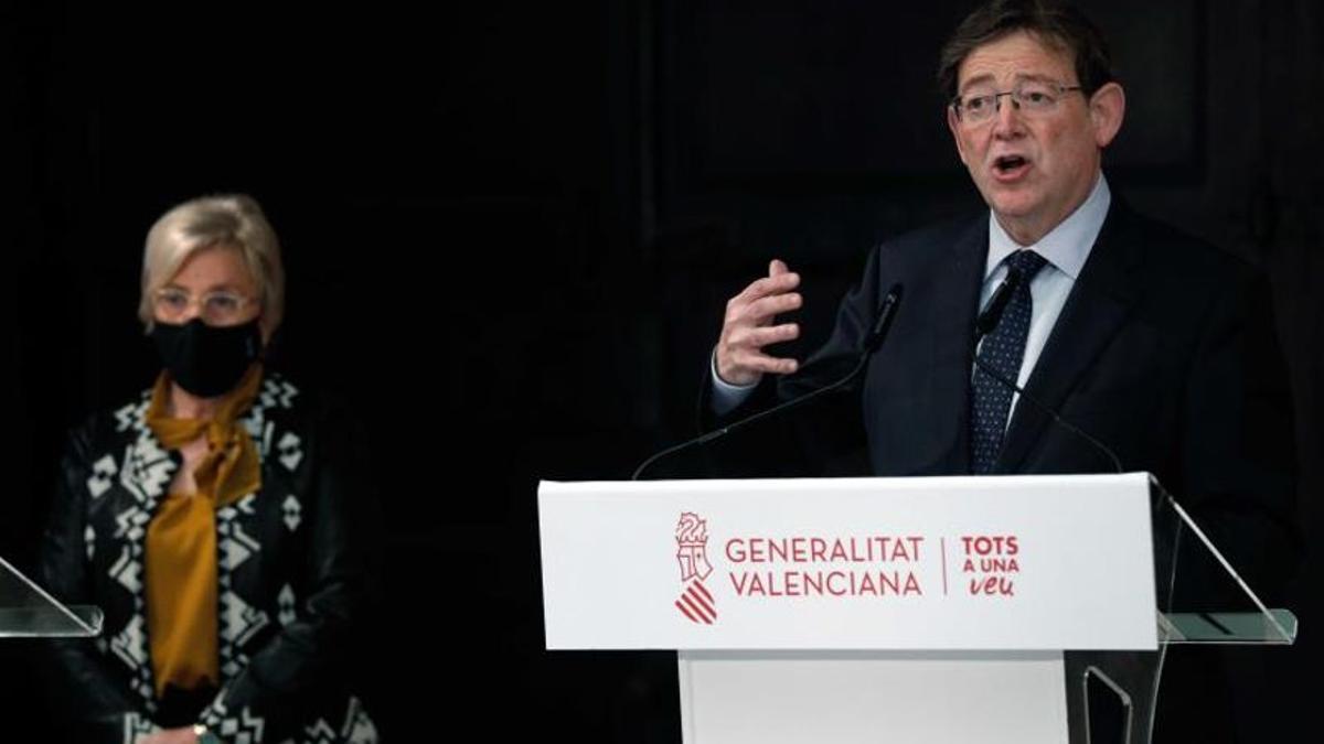 El presidente valenciano, Ximo Puig.