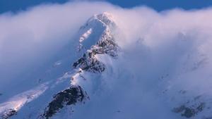 Imagen de una de las montañas de la cordillera Alborz, en Irán.