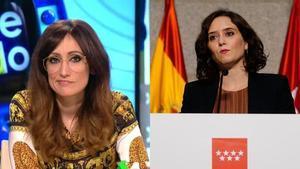 """Ana Morgade estalla contra Díaz Ayuso: """"Es una filósofa chulesca y prepotente"""""""