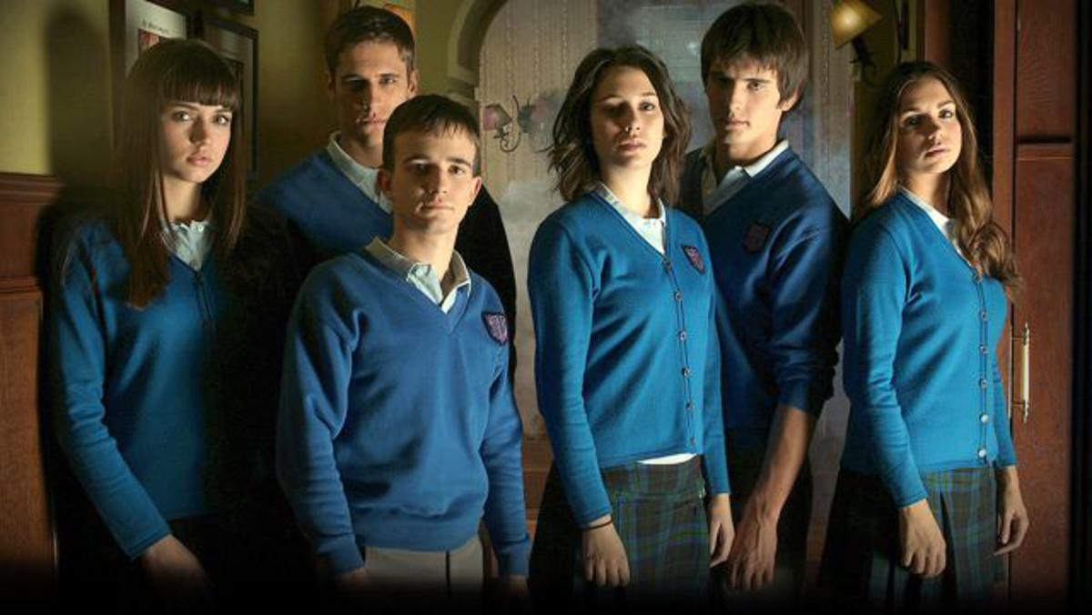 Los actores de 'El internado: Laguna Negra'