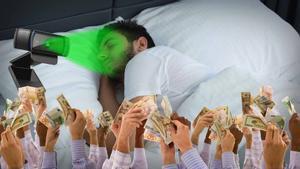 Este 'streamer' ganó 16.000$ en una noche mientras 'dormía'.