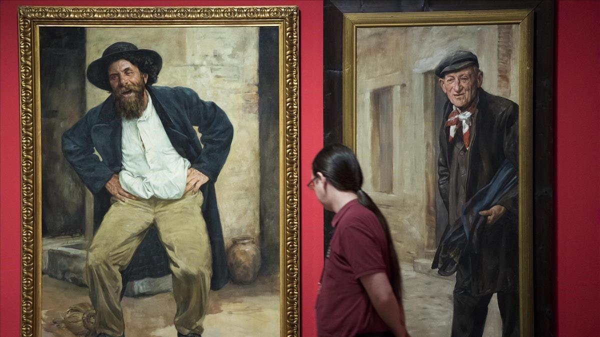 Exposición de Antoni Fabres en el MNAC.