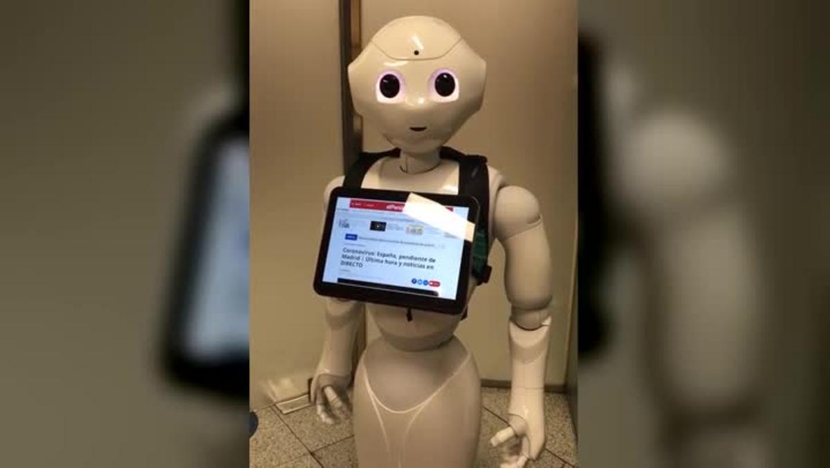 PiRobot explica cómo lleva la pandemia.
