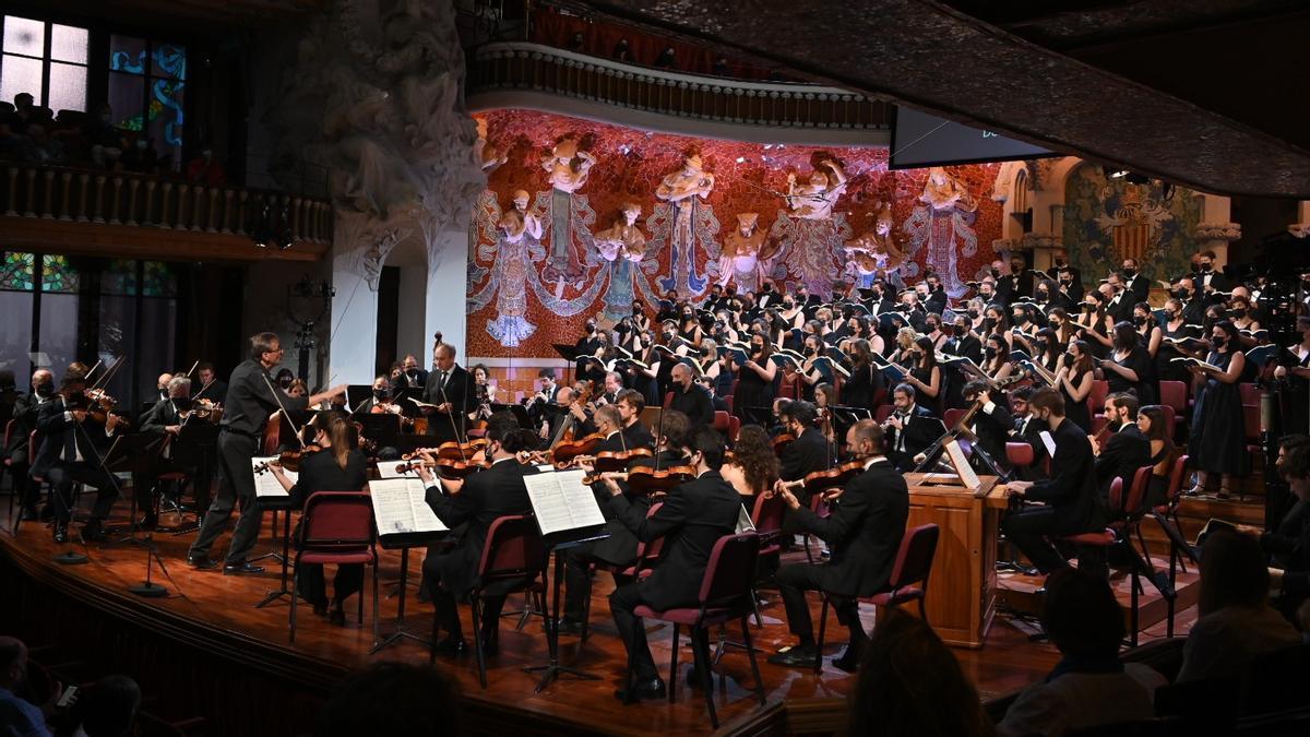 'La Passió segons Sant Mateu', en el Palau de la Música