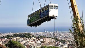 El nou funicular del Tibidabo avança amb el Tramvia Blau en guaret