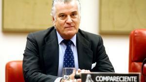 Luis Bárcenas, en una comparecencia en el Congreso en 2017.